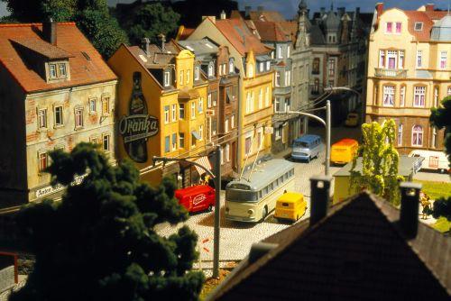 model train model railway trolley bus