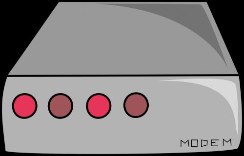 modem blink hardware