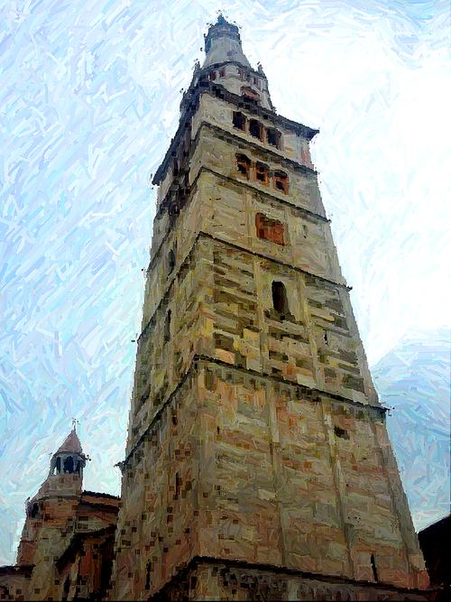 modena  campanile  church