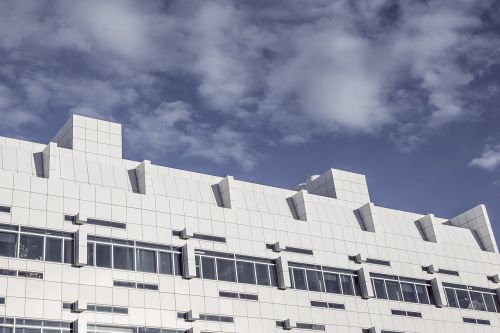 modern building white