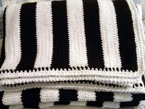 modern blanket knit blanket handmade throw
