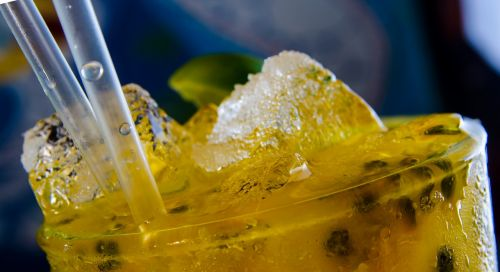 mojito passion fruit drink