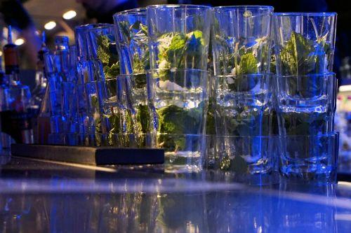 mojito glasses party