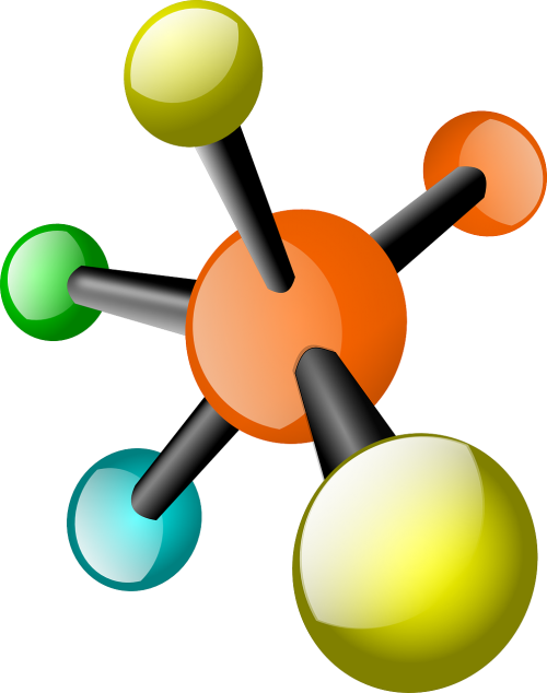 molecule network connected