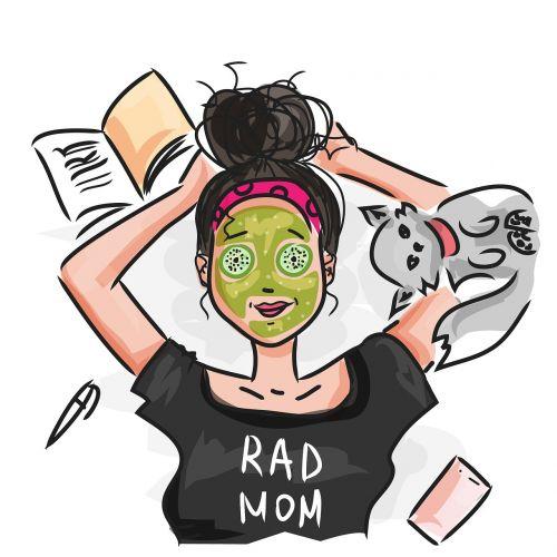 mom vacation woman