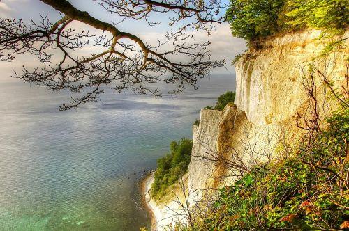 món island white cliffs