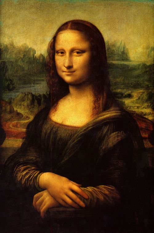 mona lisa painting art