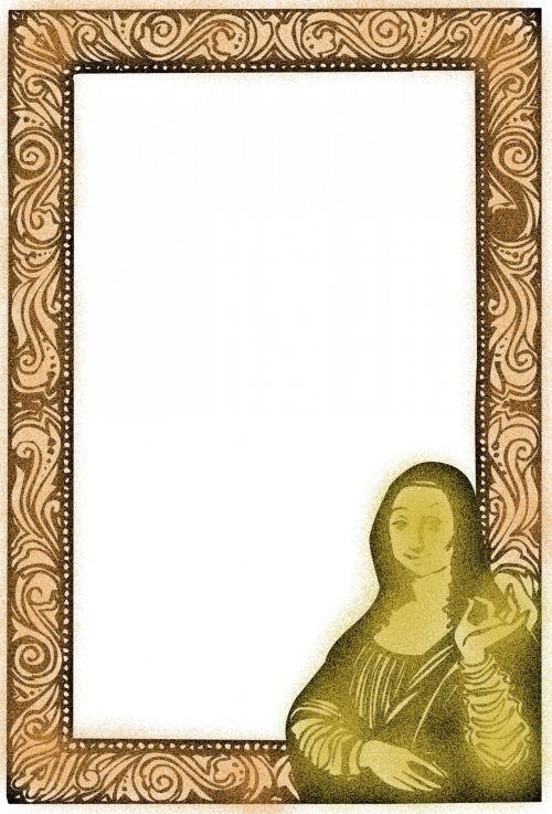 Mona Lisa Frame