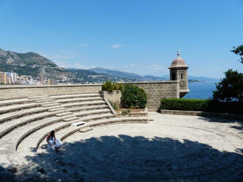 monaco fort antoine fortress
