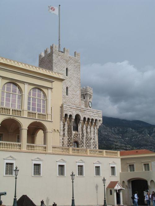 Monaco Castle Tower