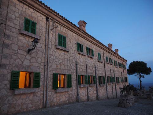 monastery building facade