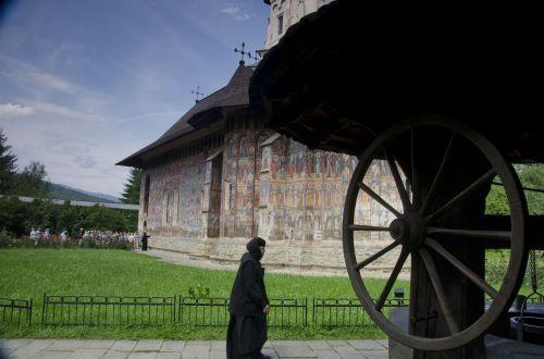 monastery moldovita romania