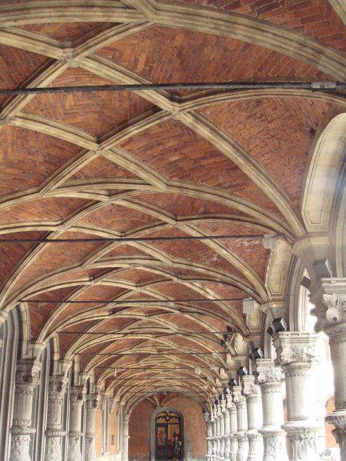 monastery walkway ceiling