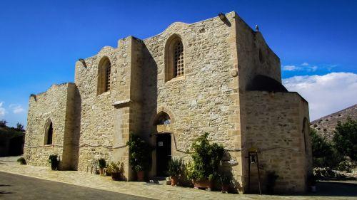 vienuolynas,Byzantine,viduramžių,bažnyčia,architektūra,XIV amžius,Panagia stazousa,ortodoksas,krikščionybė,religija,Kipras,istorinis,paminklas
