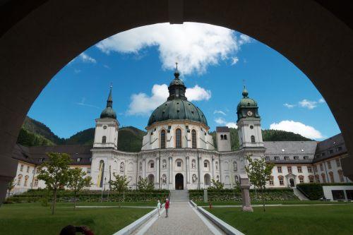 monastery ettal baroque