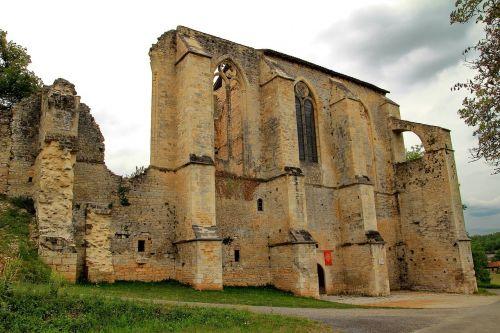 monastery ruin monastery ruins