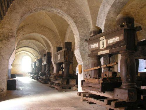monastery eberbach wine press