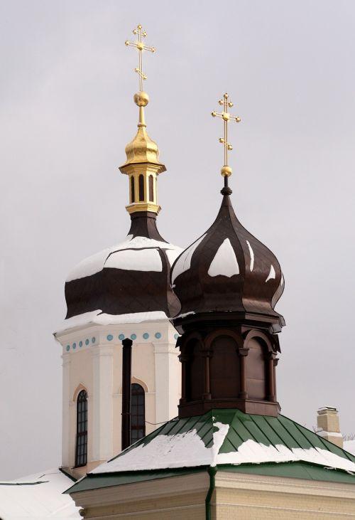 monastery winter orthodoxy