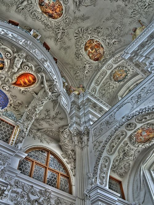 monastery architecture figure