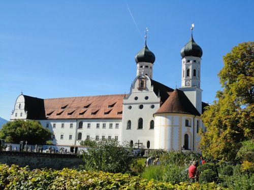 monastery bavaria benediktbeuern