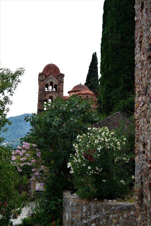 monastery plant nature