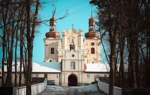 monastery church architecture