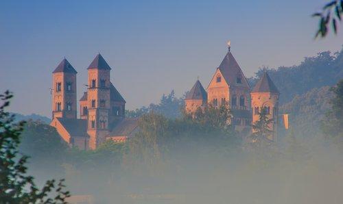 monastery  maria laach  rhineland palatinate