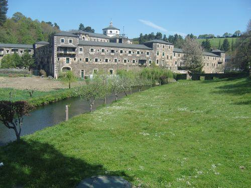 monastery jakobsweg away