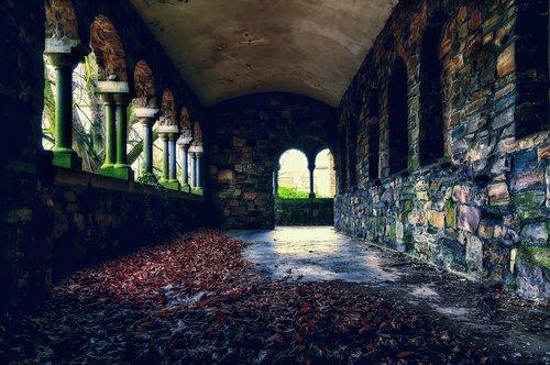 monastery  abbey  building