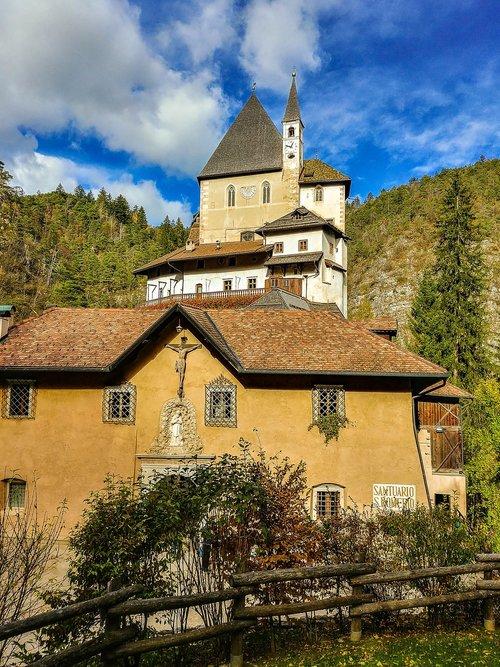 monastery  italy  church