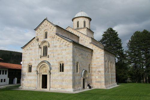 monastery kosovo chapel