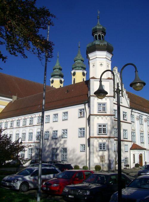 monastery red on red klosterhof