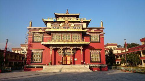 monastery kathmandu shechen tennyi dargyeling
