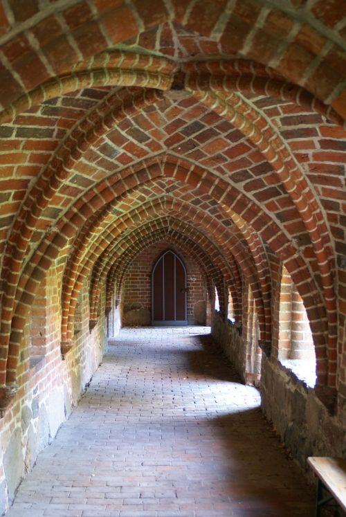 monastery church cloister