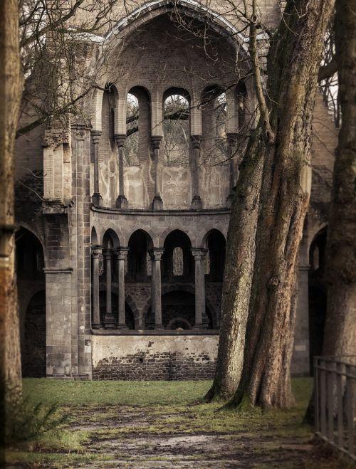 monastery ruin heisterbach