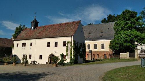 monastery altzella  nossen  monastery park