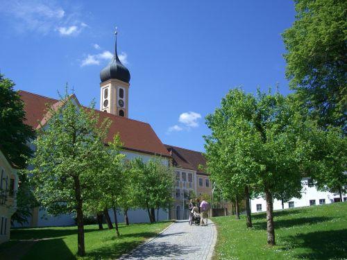 monastery church oberschönenfeld cistercian abbey
