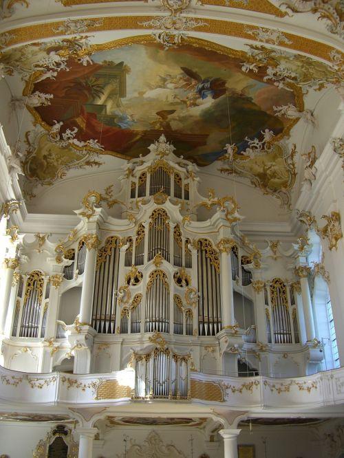 monastery church roggenburg swabia