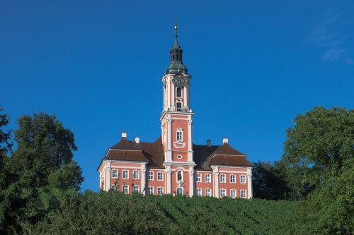 monastery church church birnau