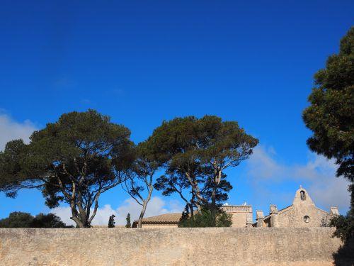 monastery cura wall protection wall