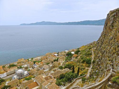 monemvasia village greece
