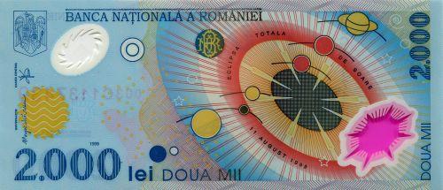 money banknote polymer money