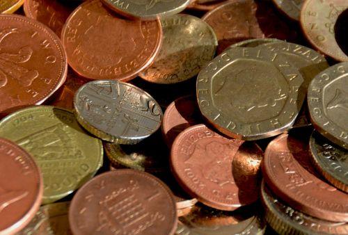 money coins cash