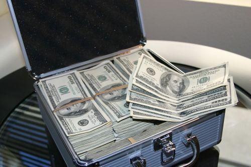 money dollars success