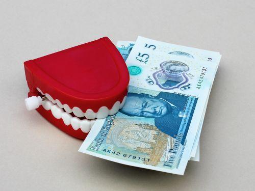 money grab teeth