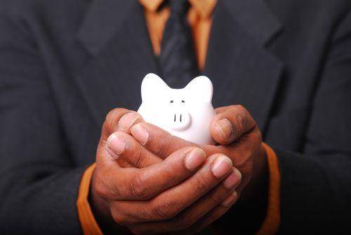 money savings piggy