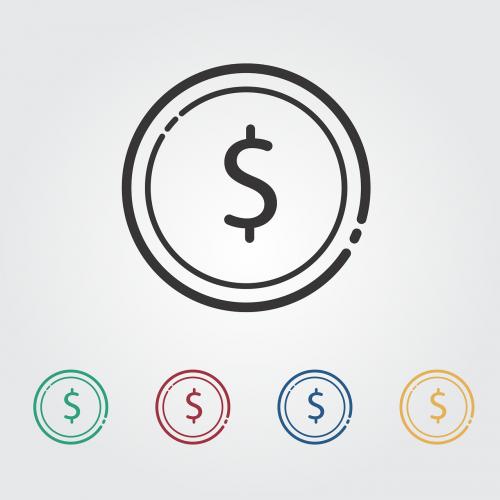 money icon vetor