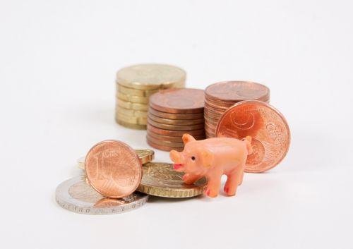 money piggy bank coins