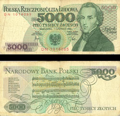 money buck 5000 russian ruble