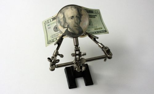 money ticket dollars
